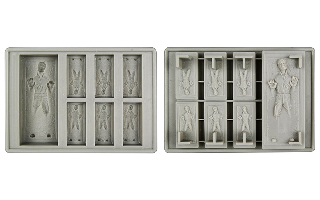 Star Wars Han Solo In Carbonite Silicone Ice Tray