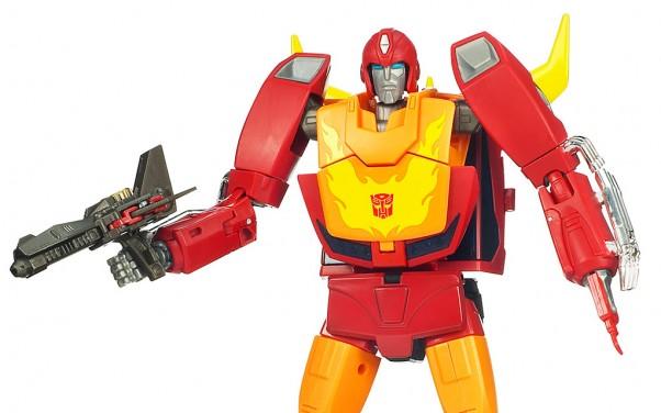 Transformers Masterpiece Rodimus Prime Hot Rod Toy