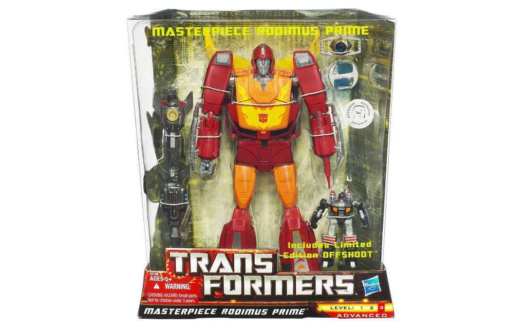 Transformers Masterpiece Rodimus Prime Hot Rod Toy Box