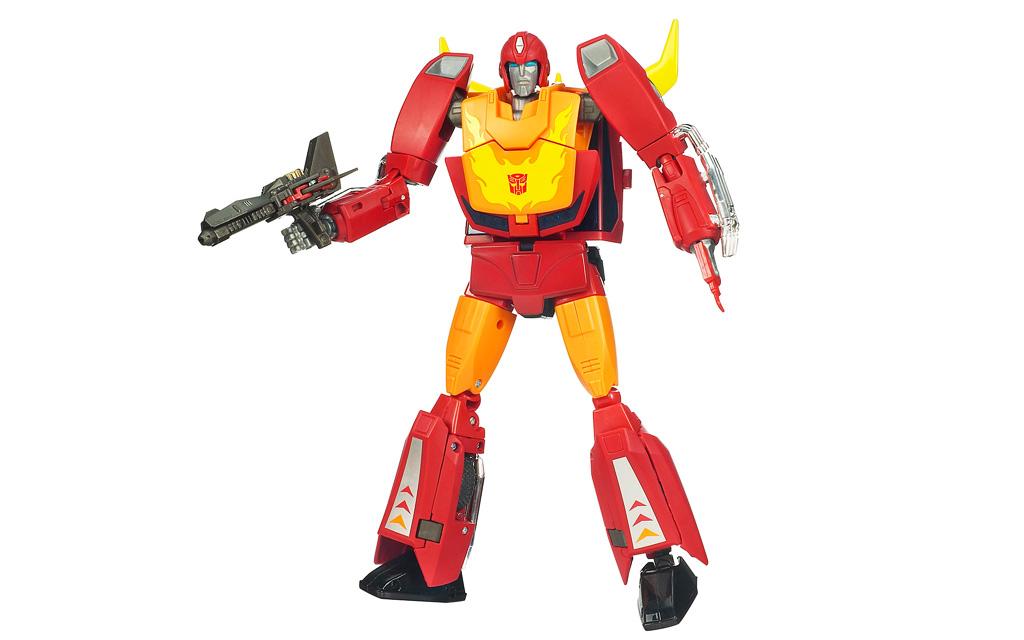 Transformers Masterpiece Rodimus Prime Hot Rod Toy Robot