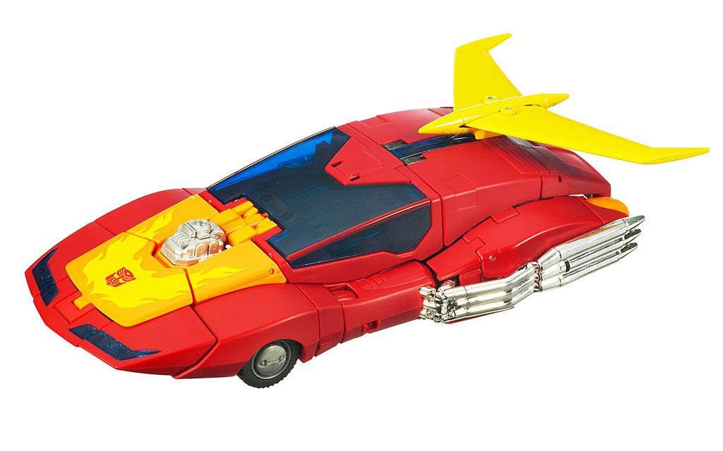 Transformers Masterpiece Rodimus Prime Hot Rod Toy Vehicle