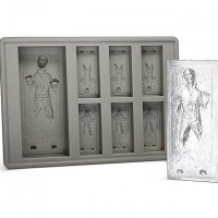 Star Wars Han Solo In Carbonite Silicone Ice Cube Tray