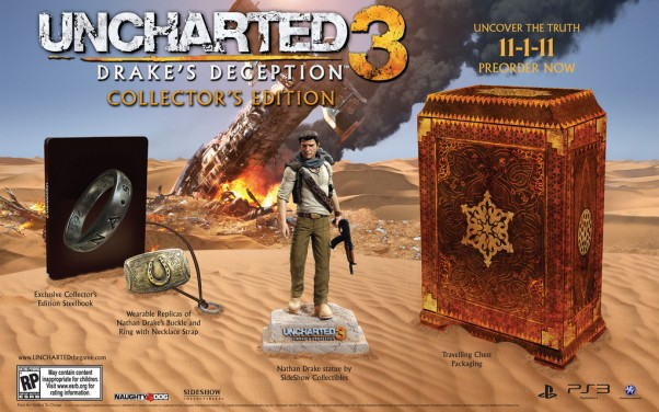Uncharted 3 Drake's Deception Collector's Edition Unboxing