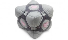 Weighted Companion Cube Plush Review Valve Portal 1 2